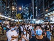 Clashes in Hong Kong as face masks banned under rare emergency po ..