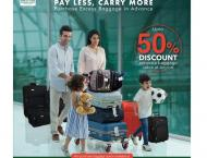 PIA Adding Convenience – Pay Less & Carry More
