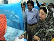 Health minister visits Holy Family OPD for dengue patients