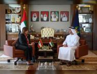Saif bin Zayed receives Lebanese Interior Minister