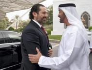 Mohamed bin Zayed receives Lebanon PM