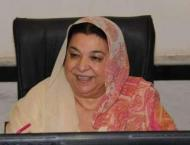 Minister for Health Dr Yasmin Rashid reviews breast cancer semina ..