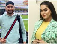Veena Malik renders Harbhajan Singh speechless with 'enjoy your t ..