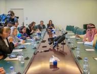 الوزير الجبير يلتقي عدداً من الصحفيين ..