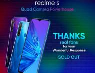 Pakistan's new best seller budget king realme 5 sold out with r ..