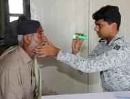 Pakistan Navy Free Eye Camp At Abdul Rehman Goth, Karachi
