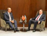 Azerbaijan, Turkey Foreign Ministers Discuss Middle East at Turki ..