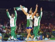 Wrestler Inam records back-to-back wins at World Beach Games