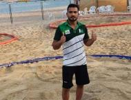 Wrestler Inam Butt claims gold medal at ANOC World Beach Games