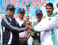 Pakistan Navy Carries The Torch Of 33rd National Games 2019