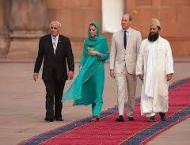 Prince William, his wife Kate visit Badshahi Mosque