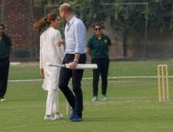 Prince William, his wife Kate visit National Cricket Academy