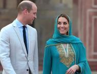 Duke, Duchess of Cambridge leave for Islamabad