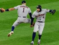 Astros down Yankees 8-3 to reach brink of World Series berth