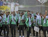 Saudi football team makes first West Bank visit