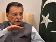 AJK Prime Minister thanks Pakistani nation of showing solidarity  ..