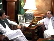 PM Imran Khan discusses issues related to Sindh with Governor