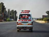 Six died, one injured in road accident in Peshawar