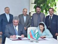 Pakistan, Azerbaijan sign MoU for promoting sports activities