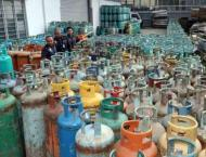 Seven arrested for illegal LPG decanting