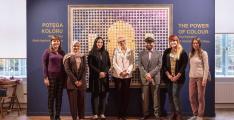 Al Rais' solo exhibition concludes in Poland