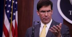 Esper Departs for Middle East Saturday Prior to NATO Ministerial in Brussels - Statement