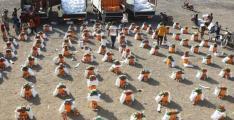 UAE sends aid convoy to Al Tahita District, Yemen
