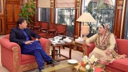 Dr Firdous calls on prime minister