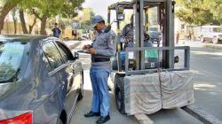 Sargodha District Regional Transport Authority challan 21 vehicles, 5 impounded, imposed Rs11500 fin ..