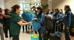 Bangladesh women cricket team arrived on a tour of Pakistan