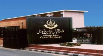 Allama Iqbal Open University (AIOU) declares results of 20 post-graduate programs
