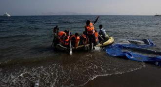 Infant dies as Greek coastguard hits migrant boat