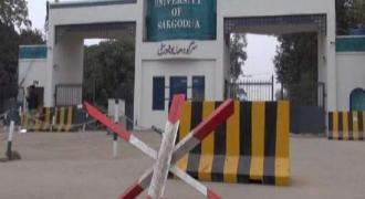 Two-member delegation of University of Georgia visits Sargodha University
