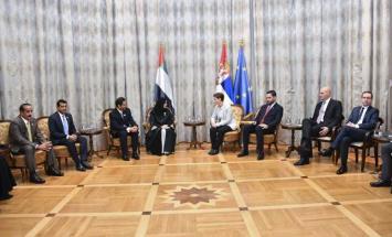 رئيسة وزراء صربيا تستقبل أمل القبيسي