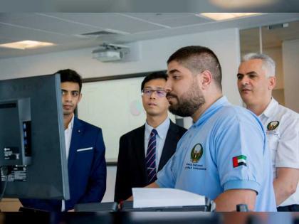 الإسعاف الوطني يبحث تعزيز التعاون مع خدمات سنغافورة الصحية