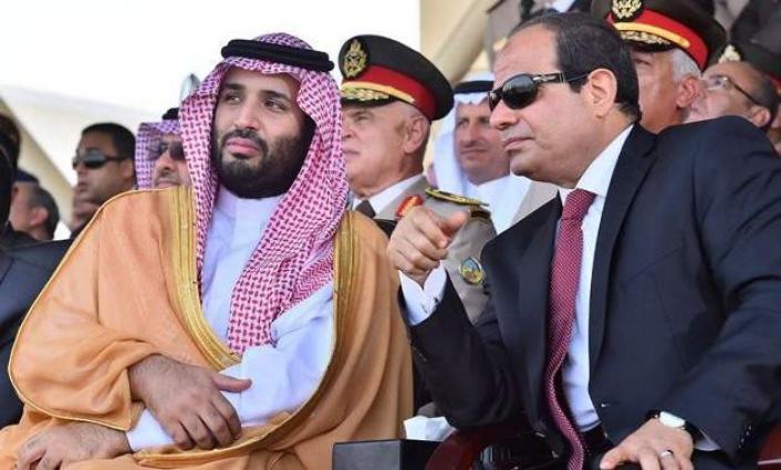 ولي العھد السعودي الأمیر محمد بن سلمان یھئني الرئیس المصري عبدالفتاح السیسي بذکر انتصارات أکتوبر