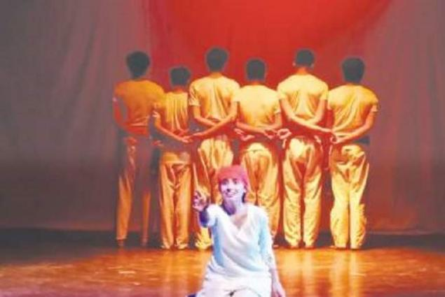 Drama staged to highlight Kashmir issue