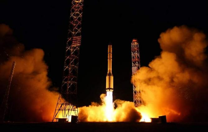 Russia's Proton-M Carrier With 2 Foreign Satellites Launched From Baikonur Spaceport