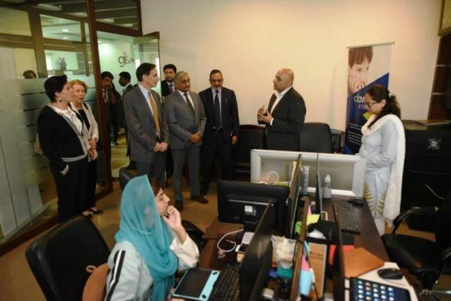 US Ambassador pays visit to NUST