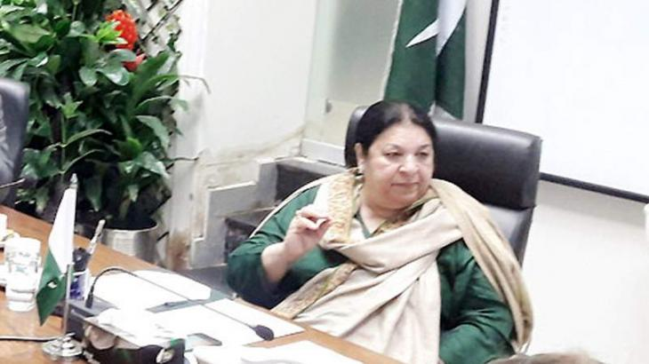 Dr Yasmeen pays surprise visit to tehsil hospital
