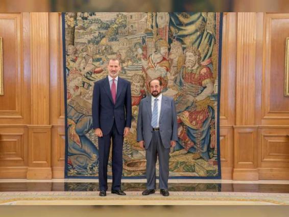 King of Spain receives Sharjah Ruler at Zarzuela Palace