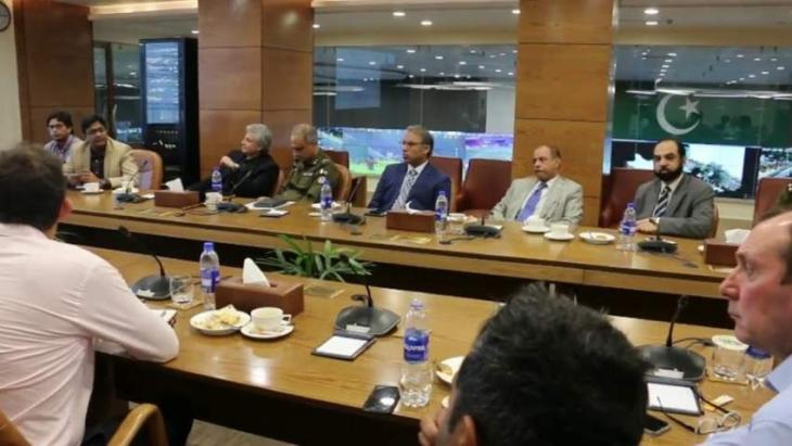 England, Ireland cricket officials visit Punjab Safe Cities Authority