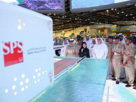 Saif bin Zayed unveils first floating smart police station