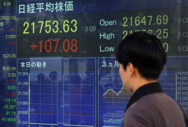 Tokyo's Nikkei closes up ahead of US-China talks