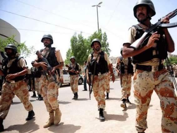 Pakistan Rangers Sindh arrested 17 suspects