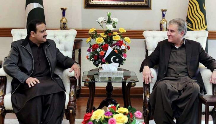 Foreign minister calls on Chief Minister Punjab