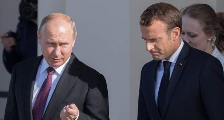 Putin, Macron Agree in Phone Talks Kiev Must Fulfill All Minsk Commitments