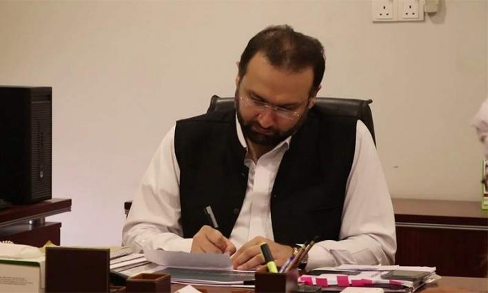 4.6 children to deworm in KP on Oct 31: hyber Pakhtunkhwa Minister for Health Dr Hisahm Inamullah