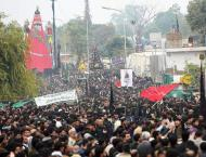 Chehlum of Hazrat Imam Hussain (R.A), other martyrs of Karbala ob ..