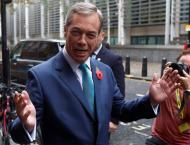 Eurosceptic Farage urges British Prime Minister to listen to Trum ..